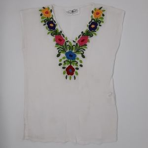 Creative Kid's Stuff | Embroidered Floral Blouse